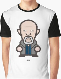 Breaking Bad Icon Set - MIKE Graphic T-Shirt