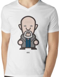 Breaking Bad Icon Set - MIKE Mens V-Neck T-Shirt