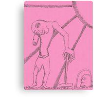 zombie croquet Canvas Print