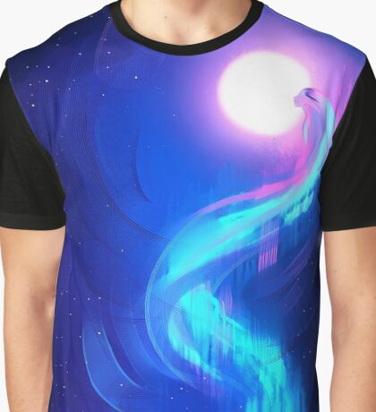 Aurora Borealis Graphic T-Shirt