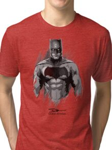 Bat Man Tri-blend T-Shirt