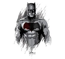 Bat Man Photographic Print