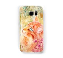Maine Coon Watercolor Samsung Galaxy Case/Skin