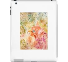 Maine Coon Watercolor iPad Case/Skin