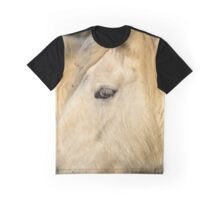 Equus Ferus Caballus - Horse's Eye Detail | East Hampton, New York Graphic T-Shirt