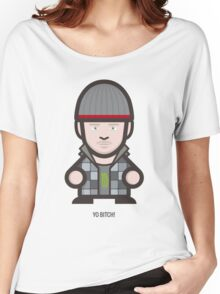 Breaking Bad Icon Set - YO BITCH! Women's Relaxed Fit T-Shirt