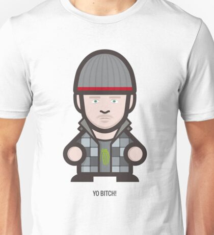 Breaking Bad Icon Set - YO BITCH! Unisex T-Shirt