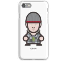 Breaking Bad Icon Set - YO BITCH! iPhone Case/Skin