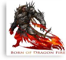 Guild Wars 2 - Born of Dragon Fire Canvas Print