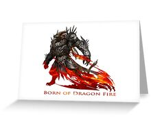 Guild Wars 2 - Born of Dragon Fire Greeting Card