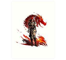 Guild Wars 2 - Nord Woman Art Print