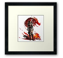 Guild Wars 2 - Nord Woman Framed Print