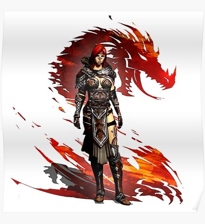 Guild Wars 2 - Nord Woman Poster