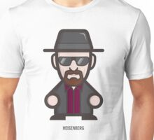 Breaking Bad Icon Set - HEISENBERG Unisex T-Shirt