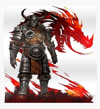 Guild Wars 2 - Nord Man Poster