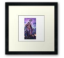 Beckoner Of Evil Framed Print