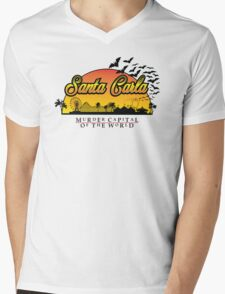 Santa Carla - Murder Capital Variant Mens V-Neck T-Shirt