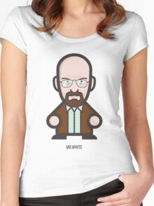 Breaking Bad Icon Set - MR. WHITE Women's Fitted Scoop T-Shirt