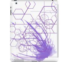Tech purple iPad Case/Skin