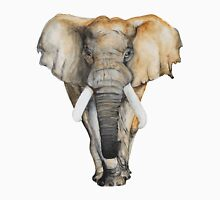 Watercolor hand drawn Elephant Unisex T-Shirt