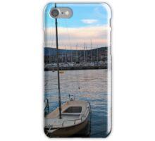 Little marina in Piran Slovenia iPhone Case/Skin