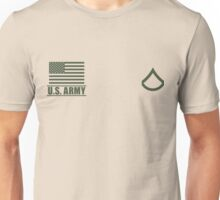 Private First Class Infantry US Army Rank by Mision Militar ™ Unisex T-Shirt