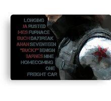 Activate Winter Soldier. Canvas Print