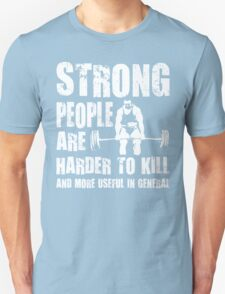 Strong People (Deadlift) T-Shirt