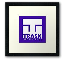 TRASK INDUSTRIES Framed Print