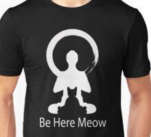 Yoga Meow Enso Zen Circle of Enlightenment, Meditation, Buddha, Buddhism, Japan Unisex T-Shirt