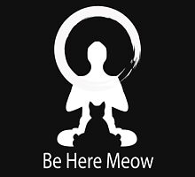 Yoga Meow Enso Zen Circle of Enlightenment, Meditation, Buddha, Buddhism, Japan Unisex T-Shirt