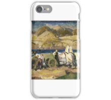 George Wesley Bellows (American, ). The Sand Cart,  iPhone Case/Skin