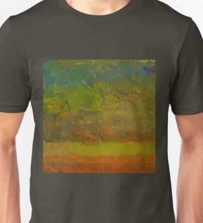 Abstract Landscape Series - Golden Dawn Unisex T-Shirt