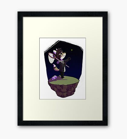 bug hunt Framed Print