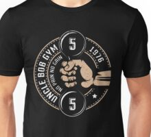 CrossFit logo hand with dumpbell Unisex T-Shirt