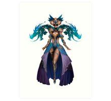 Guild Wars 2 - Human Elementalist Art Print