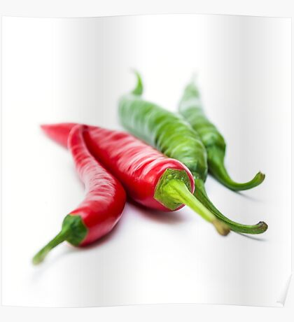 Mixed Peppers 3 Poster