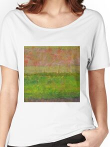 Abstract Landscape Series - Summer Fields Women's Relaxed Fit T-Shirt