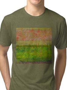 Abstract Landscape Series - Summer Fields Tri-blend T-Shirt