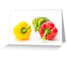Mixed Peppers 1 Greeting Card