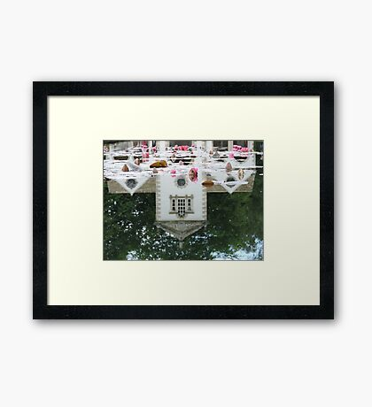Reflected Pin Mill Framed Print