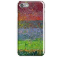 Abstract Landscape Series - Blue Waters iPhone Case/Skin
