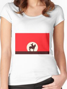 Red Dead Redemption #6 Women's Fitted Scoop T-Shirt
