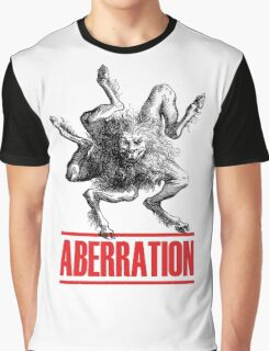 Aberration Beast Design Graphic T-Shirt