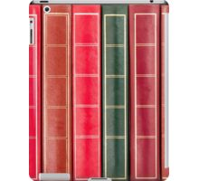 Row of Old Books Showing Spines iPad Case/Skin
