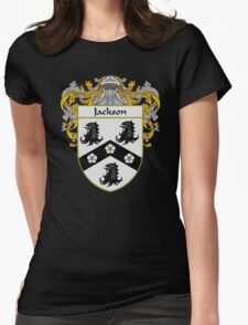 Jackson Coat of Arms/Family Crest Womens Fitted T-Shirt