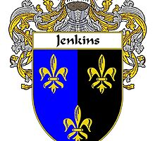 Jenkins Coat of Arms/Family Crest by William Martin