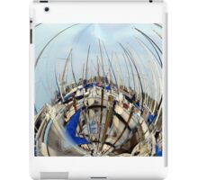 rounded sails iPad Case/Skin