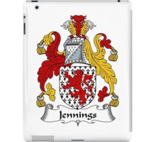 Jennings Coat of Arms / Jennings Family Crest iPad Case/Skin