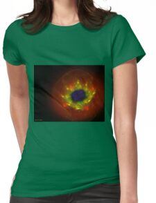 Red Poppy flower Womens Fitted T-Shirt